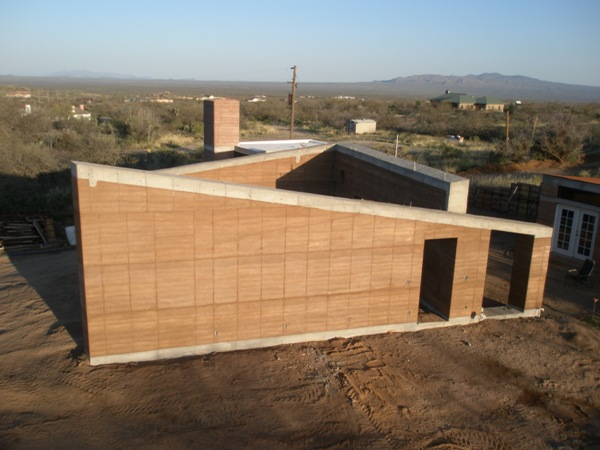 Rammed Earth Solar Homes Inc